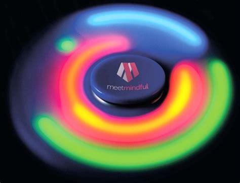 Promo Fidget Spinner Led Import Murah fidget spinner with led lights and printed logo