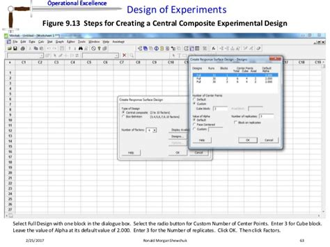 design of experiment number of runs design of experiments