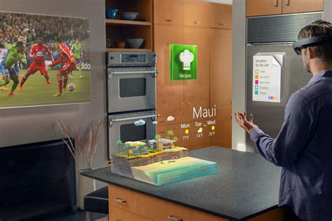 Microsoft Hololens microsoft hololens projiziert virtuelle objekte ins wohnzimmer allround pc