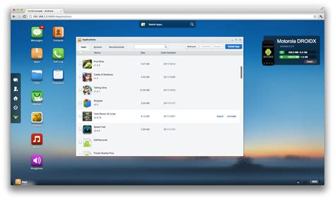 desktop site login android your android device from a web browser the air airdroid linux
