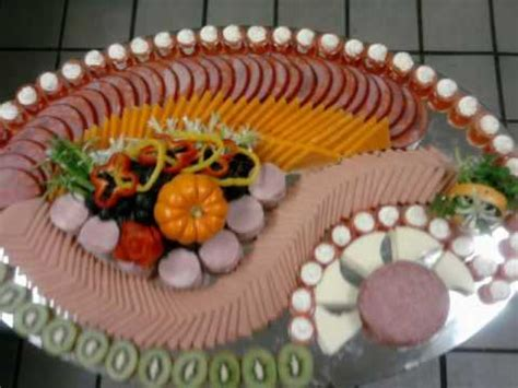 Cutting Board With Trays cold cut meat display by khmer chef youtube
