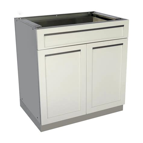 Kitchen Cabinets Doors And Drawers 4 Outdoor Stainless Steel Drawer Plus 32x35x22 5 In Outdoor Kitchen Cabinet Base With 2