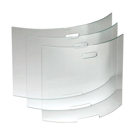 curved glass screens stovax accessories