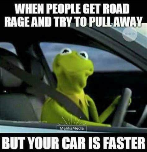 Kermit The Frog Meme Driving - car memes