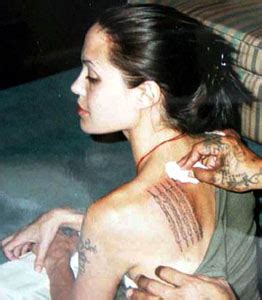 angie s tattoo angelina jolie photo 31835260 fanpop