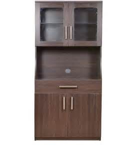 Best Polish For Kitchen Cabinets modern living crockery unit in tusken wenge finish by
