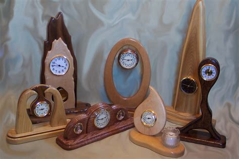 Handcrafted Wood Clocks - handcrafted wood clocks trellischicago
