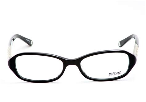 moschino eyeglasses mo 050 black optical frame