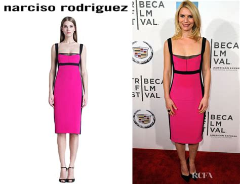 Who Wore Narciso Rodriguez Better Sevigny Or Amanda Bynes by Danes Narciso Rodriguez Colour Block Silk Sheath