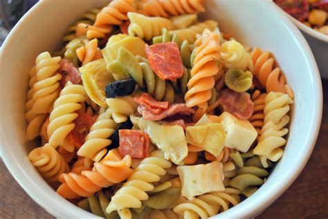 simple pasta salad easy italian pasta salad
