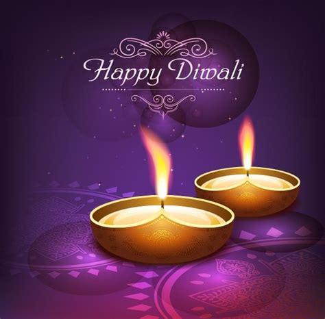 happy diwali card templates free vector traditional happy diwali logo on purple poster