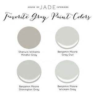 best warm gray paint colors house of jade s favorite gray paint colors house of jade