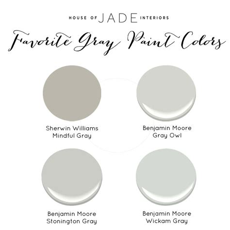 house of jade s favorite gray paint colors house of jade interiors