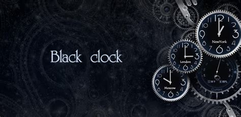 black clock live wallpaper hd v1 05 black clock live wallpaper v1 01 apk download download