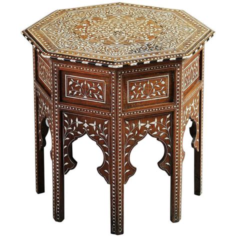 Indian Table L with Anglo Indian Table At 1stdibs