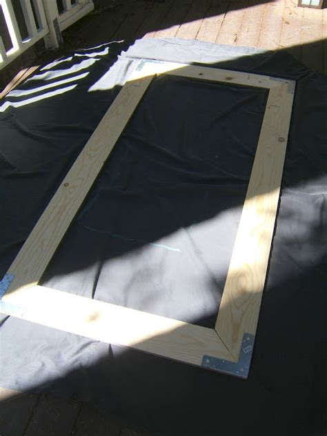 diy floor mirror frame lay your frame face down and carefully bring your mirror
