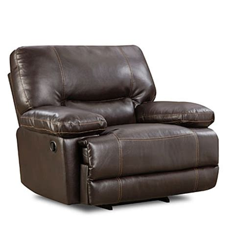 chocolate rocking recliner