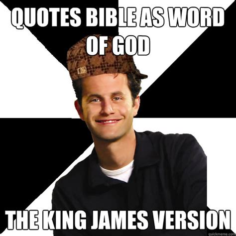 Meme Bible - quotes bible as word of god the king james version