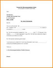 7 how to format a recommendation letter sle of invoice