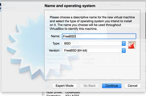 format hard disk virtualbox installing freebsd with virtualbox freebsd foundation