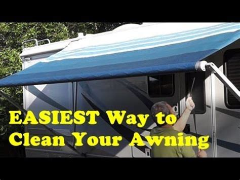 how to clean a rv awning 269 best rv cer images on pinterest