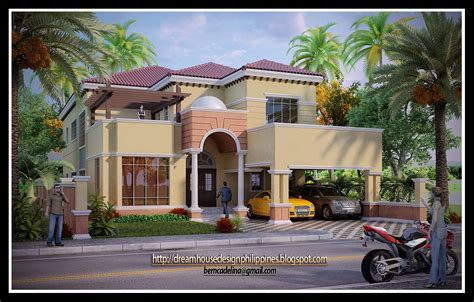 Mediterranean House Design by Philippine Dream House Design Mediterranean House 2