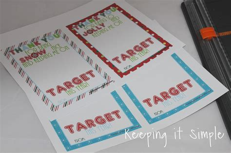 Can You Use Target Gift Cards Online - teacher christmas gift idea printable for target gift card keeping it simple crafts