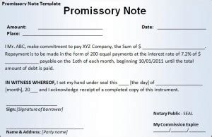 Business Templates Free Word S Templates Part 4 Legally Binding Promissory Note Template