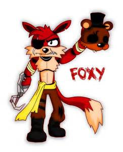 Fight night at freddy s foxy fatality by bluewolfavenger