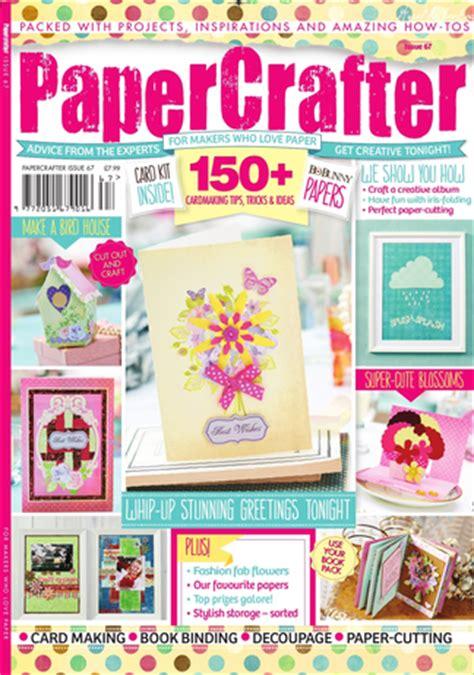 Papercrafter Magazine - papercrafter magazine subscription isubscribe co uk