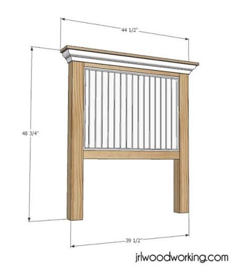 Headboard Dimensions by White Build A Bed Beadboard Headboard Free