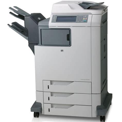 Hp Color Laserjet Cm4730mfp Printer Copier Scanner Colored Printer Paper StaplesL