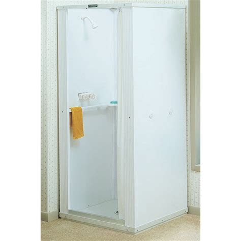 Shower Stall Systems Bathroom Stunning Shower Stall Kits With Seat Corner And