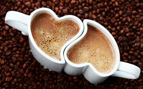 wallpaper coffee cup love wallpaper love coffee cup heart grain foam desktop