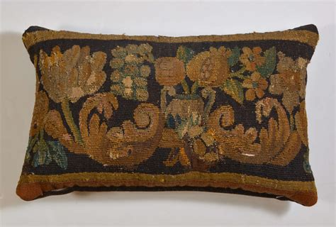 Antique Tapestry Pillows by Pair Of Antique Aubusson Tapestry Pillows At 1stdibs