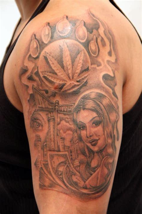 cartoon tattoo artist designs cholo line by mister vato