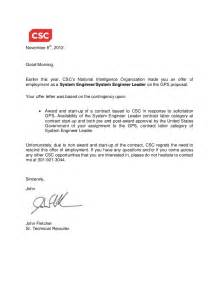 Rescind Contract Letter Sle Gps Rescind Offer Letter