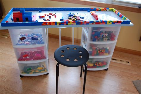 lego play table diy diy lego storage and play table