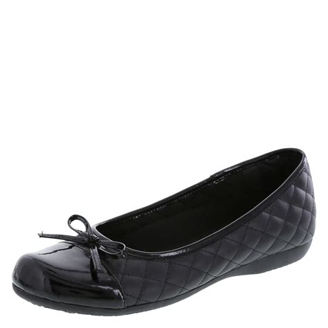 payless shoes for womens flats safetstep slip resistant s bow flat shoe payless
