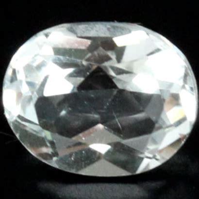 Chagne Topaz 5 16ct 3 28 ct white topaz gemstone for sale