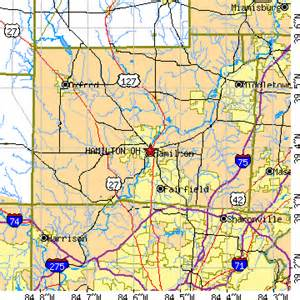Hamilton Ohio Map by Hamilton Ohio Oh Population Data Races Housing