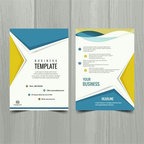 94 Best Brochure Design Template Images On Pinterest Brochure Design Flyer Design And Flyers Design Templates