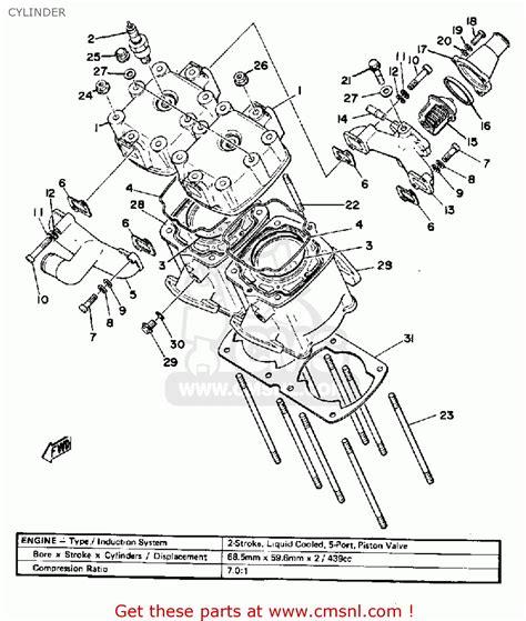 yamaha dt360 parts wiring diagram and fuse box