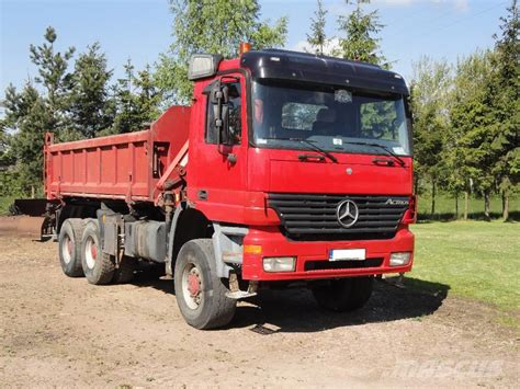 mercedes pickup truck 6x6 mercedes benz actros 3335ak 6x6 tipper 3 sided hds tirre