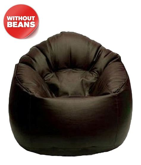 Paket Cover Bean Bag 06 bean bag chair cover in brown xl buy bean bag chair cover in brown xl at best prices