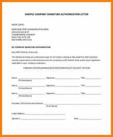 4 Authorized Signatory Letter Sephora Resume
