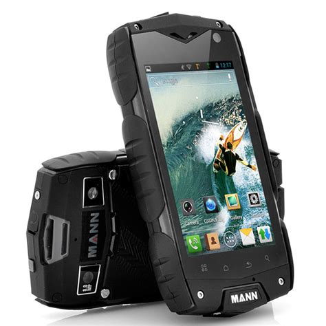 rugged android phone mann a18 rugged android smartphone a truly mannly phone technabob