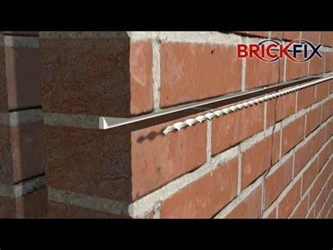 Backsteinmauer Sanieren by Stitching Repairing Cracked Walls Using Brickfix