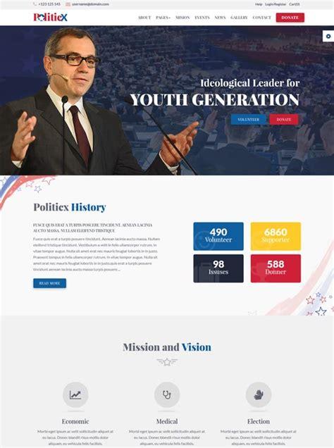 40 Best Political Website Templates 2018 Freshdesignweb Political Caign Website Templates Free