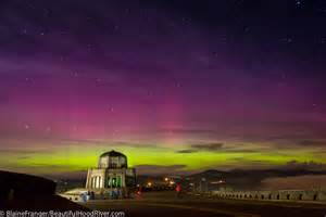 oregon lights borealis northern lights the columbia river